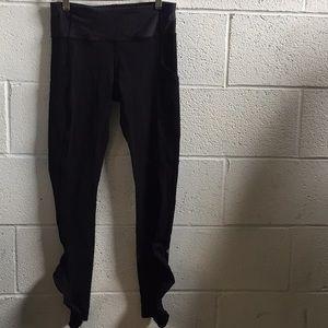 lululemon athletica Pants - Lululemon black legging, sz 6, 58946